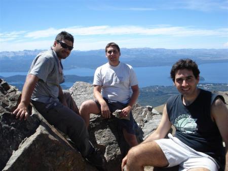 Cumbre en el CerroCatedral