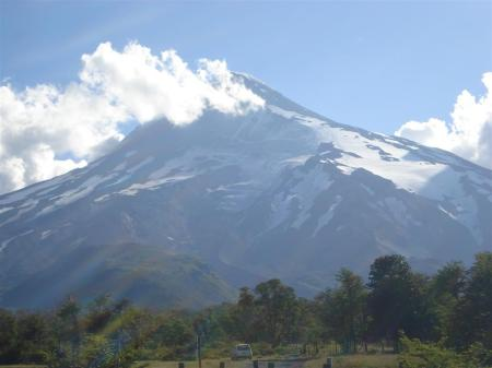Volcán Lanin, desde la base